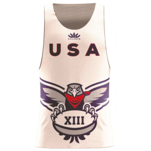 United States rugby league training singlet