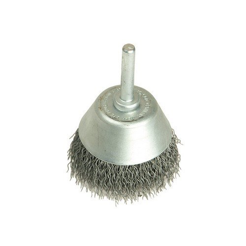 Lessmann 434.162 Cup Brush with Shank D40mm x 15h x 0.30 Steel Wire
