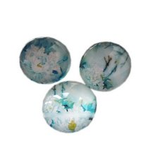 Gorgeous Flowers Magnets Round Magnets for Fridge, Office, 3 PCS
