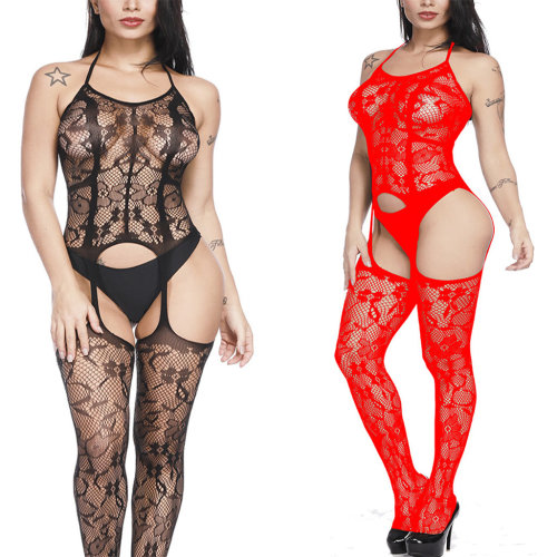 Ulily 2 Pack Womens Plus Size Fishnet Bodystocking