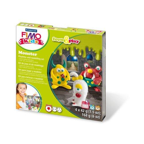 FIMO kids form & play Monster, 1 Stück