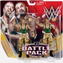 WWE Battlepack Series 40 Bushwackers Luke and Butch Action Figures New Sealed