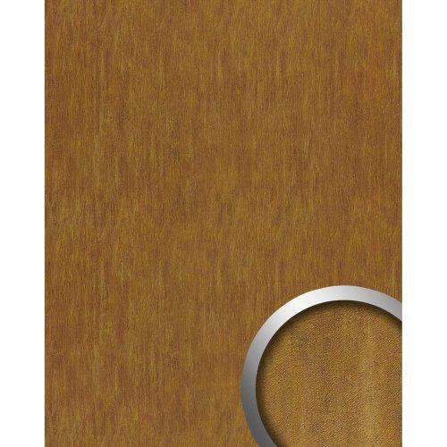 WallFace 17848 OXY TERRA Wallpanel selfadhesive Leather steel brown 2.6 sqm