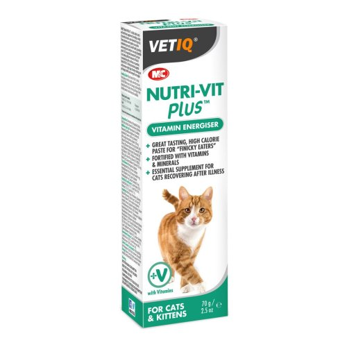 VetIQ Nutri-Vit Plus Cat Paste 70g