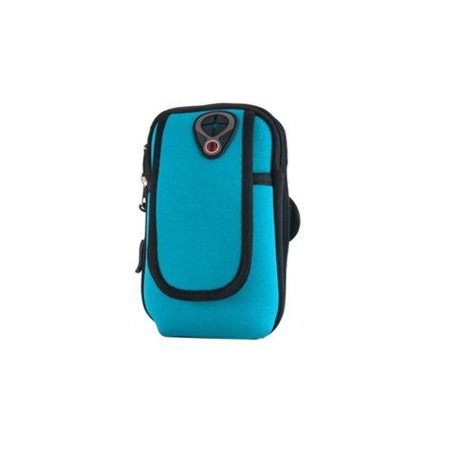 Men/Women Fitness Wrist Bag Running Traveling Hiking Mobile Phone Arm Pack_A10