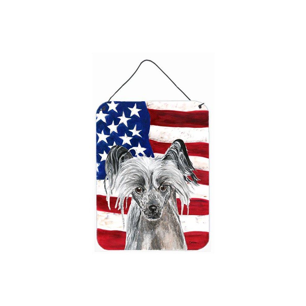 Carolines Treasures USA American Flag with Saint Bernard Night Light 6 x 4 Multicolor