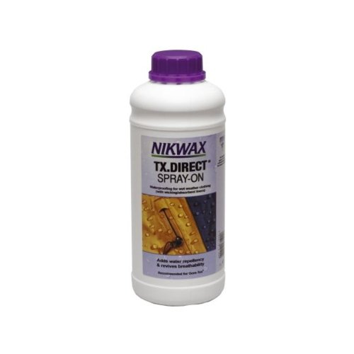 Nikwax TX Direct Spray-On Textile Waterproof (1 Litre Refill)