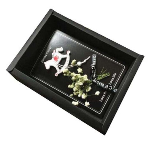 With Gift Boxes And Gift Bag Modern Floral Thank You Cards