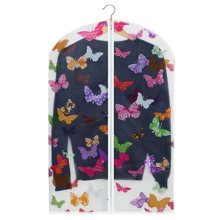 Shoulder Covers Clothing Protector Suit Dust Cover Hanging Bag 5 PCS- Butterfly