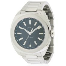 Gucci Stainless Steel Mens Watch YA142201