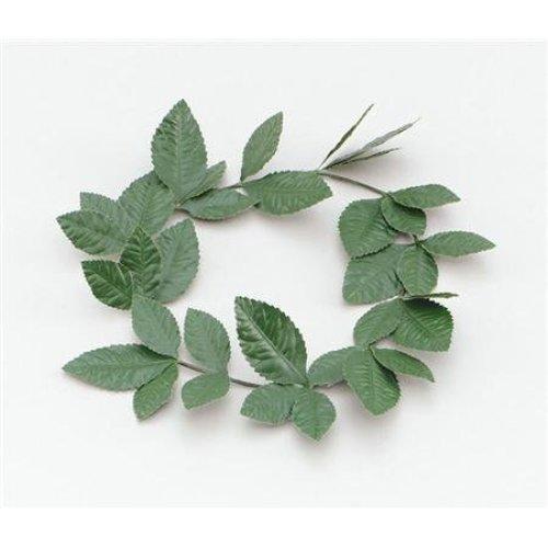 Green Laurel Leaf Headband - Fancy Dress Roman Greek Goddess Wreath Accessory -  laurel fancy dress green roman headband leaf greek goddess wreath