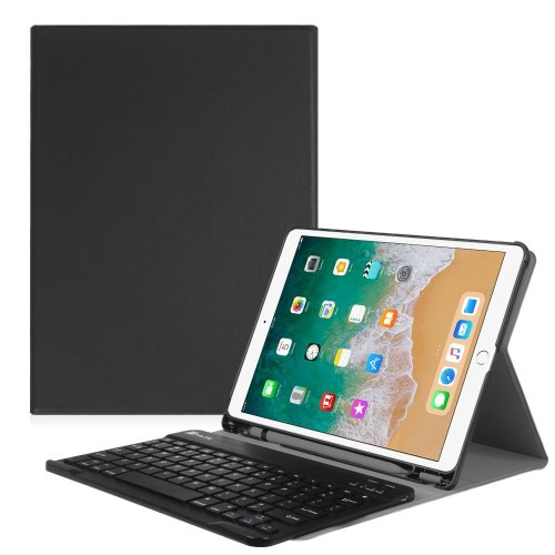Fintie iPad Pro 10.5 Keyboard Case with Built-in Apple Pencil Holder - SlimShell Protective Cover with Magnetically Detachable Wireless Bluetooth...