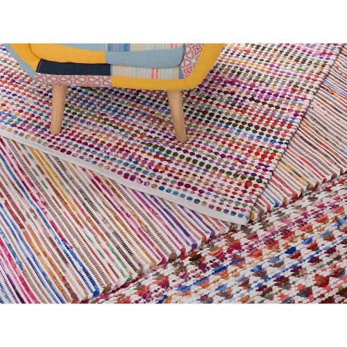 Rug - Carpet - Handmade - Cotton - BARTIN