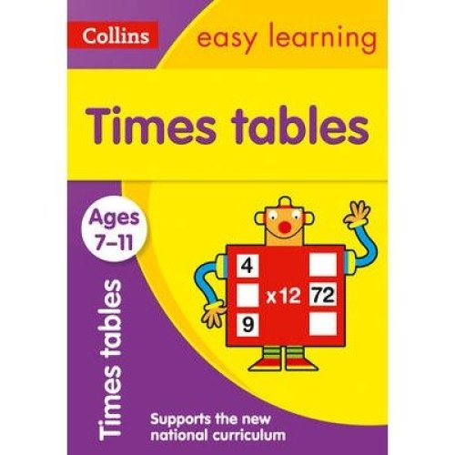 Collins Easy Learning Ks2: Times Tables Ages 7-11