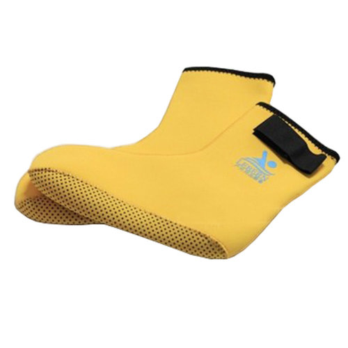Children Sand Socks Water Skin Shoes Diving Socks,Yellow L