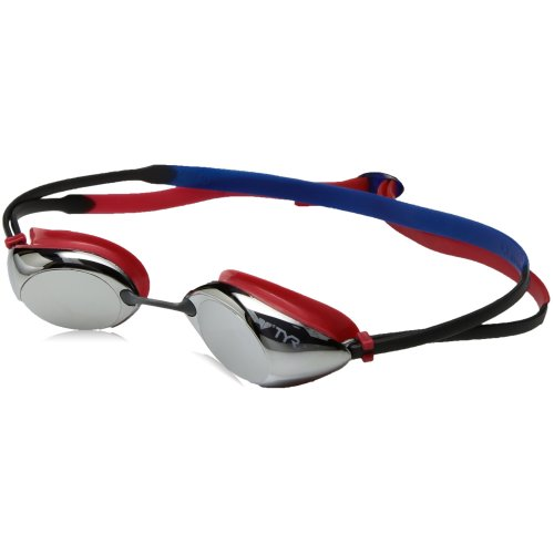 0787a29948c TYR Kids  Tracer Racing Mirrored Low Profile Swimming Goggles ...