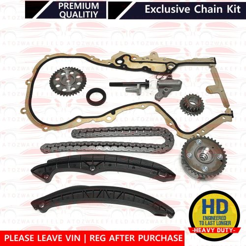 For Skoda Fabia Octavia Rapid Roomster Spaceback Yeti 1.4 1.6 Timing chain kit