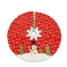 Christmas Tree Skirt Snowman Xmas Tree Skirt Christmas Decoration 104cm
