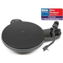 Project RPM 3 Carbon Turntable With Ortofon 2M Silver Cartridge (Gloss black)