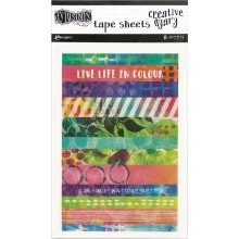 Dyan Reaveley's Dylusions Dyary Tape Strips-
