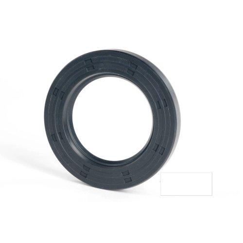 6x12x2mm Oil Seal Nitrile R21 Single Lip Springless 10 Pack