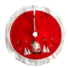 90cm Christmas Tree Skirt Christmas Decoration Xmas Tree Skirt