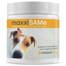 maxxidog - maxxiSAMe liver, joints and cognitive function support for dogs | 150 gr powder | given WITH food