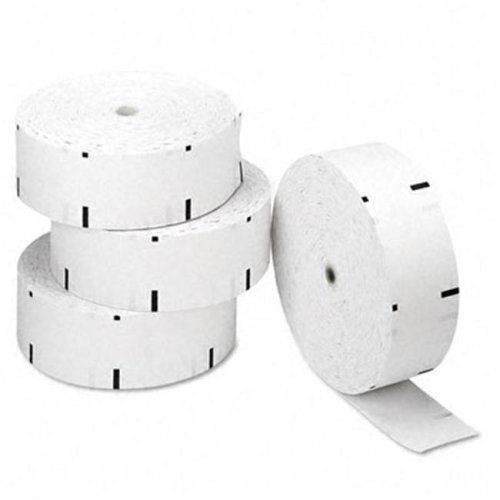 "PM Company 06507 Perfection ATM Paper Rolls- 3-1/8"" x 1-960 ft- White- 4/Carton"