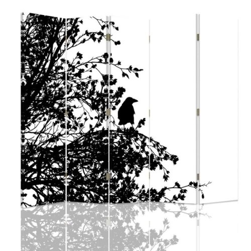 Forest Silhouette Screen/Room Divider