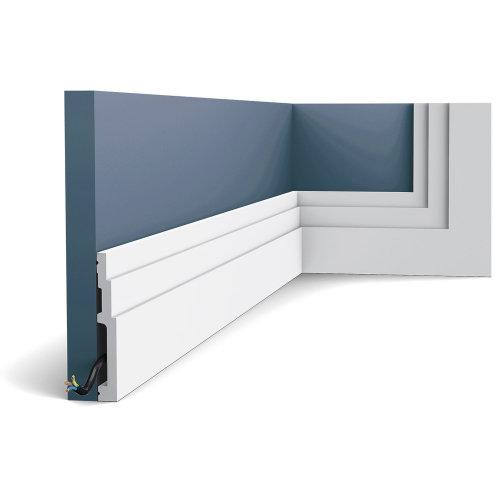 Orac Decor SX180F MODERN HIGH LINE Skirting Flexible moulding Decorative 2 m