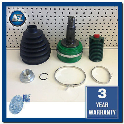 FOR HONDA CIVIC TYPE R 2.0 EP3 CV JOINT KIT OUTER BOOT HUB NUT ABS 3 YR WARRANTY