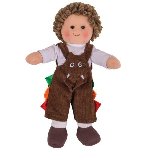 Bigjigs Toys Jack Doll 28cm - Ragdoll Cuddly Toy