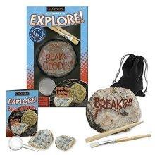 GeoCentral Excavate & Explore! Break Your Own Geodes Kit