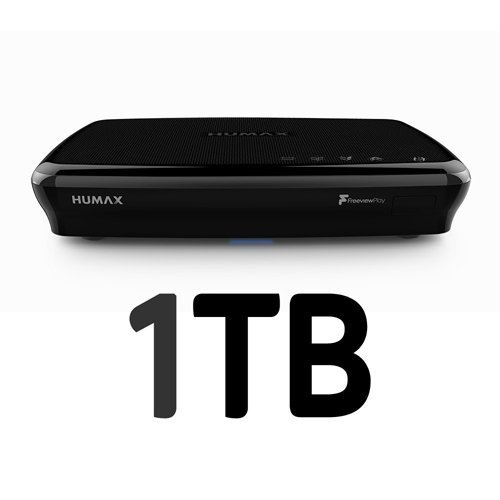 Humax FVP-5000T 1TB Freeview Play HD TV Recorder - Black