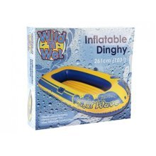 "103"" 18g Junior Tidal Wave Dinghy With Repair Kit - 1 2 3 4 Person Man -  1 2 3 4 person man inflatable dinghy raft boat"