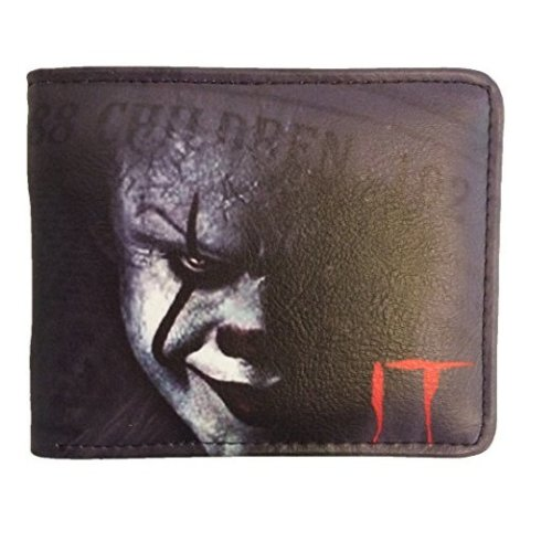 Stephen King IT Pennywise The Clown Wallet