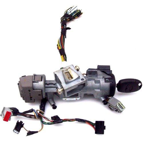 Ford Focus C Max Ignition Lock Barrel + Key + Wiring Loom Plugs 3M51-3F880-AA