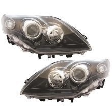 Renault Laguna Mk3 10/2007-3/2011 Headlights Headlamps 1 Pair O/s & N/s