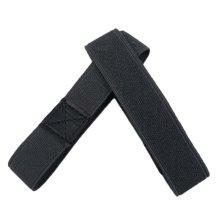 Women's Detachable Elasticized Shoe Straps - Dark Gray