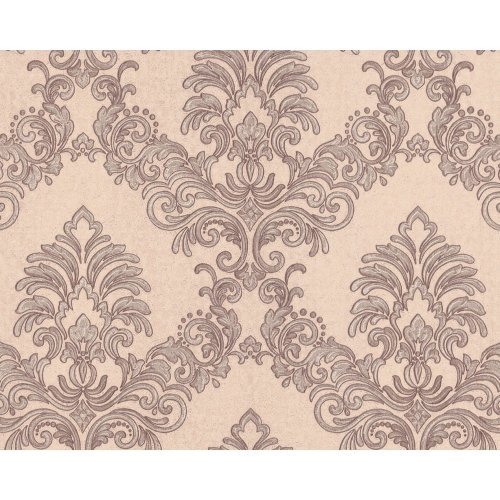 EDEM 9084-24 Baroque wallcovering with metallic highlights beige grey 10.65 sqm
