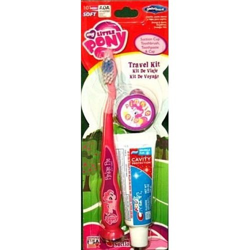 My Little Pony Toothbrush Travel Kit Incl Toothpaste And Cap