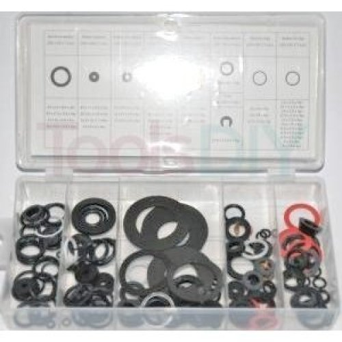 Toolzone 125pc Tap Ring Washer Assortment