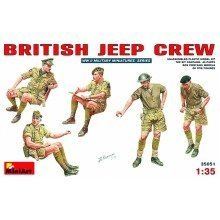 Min35051 - Miniart 1:35 - British Jeep Crew