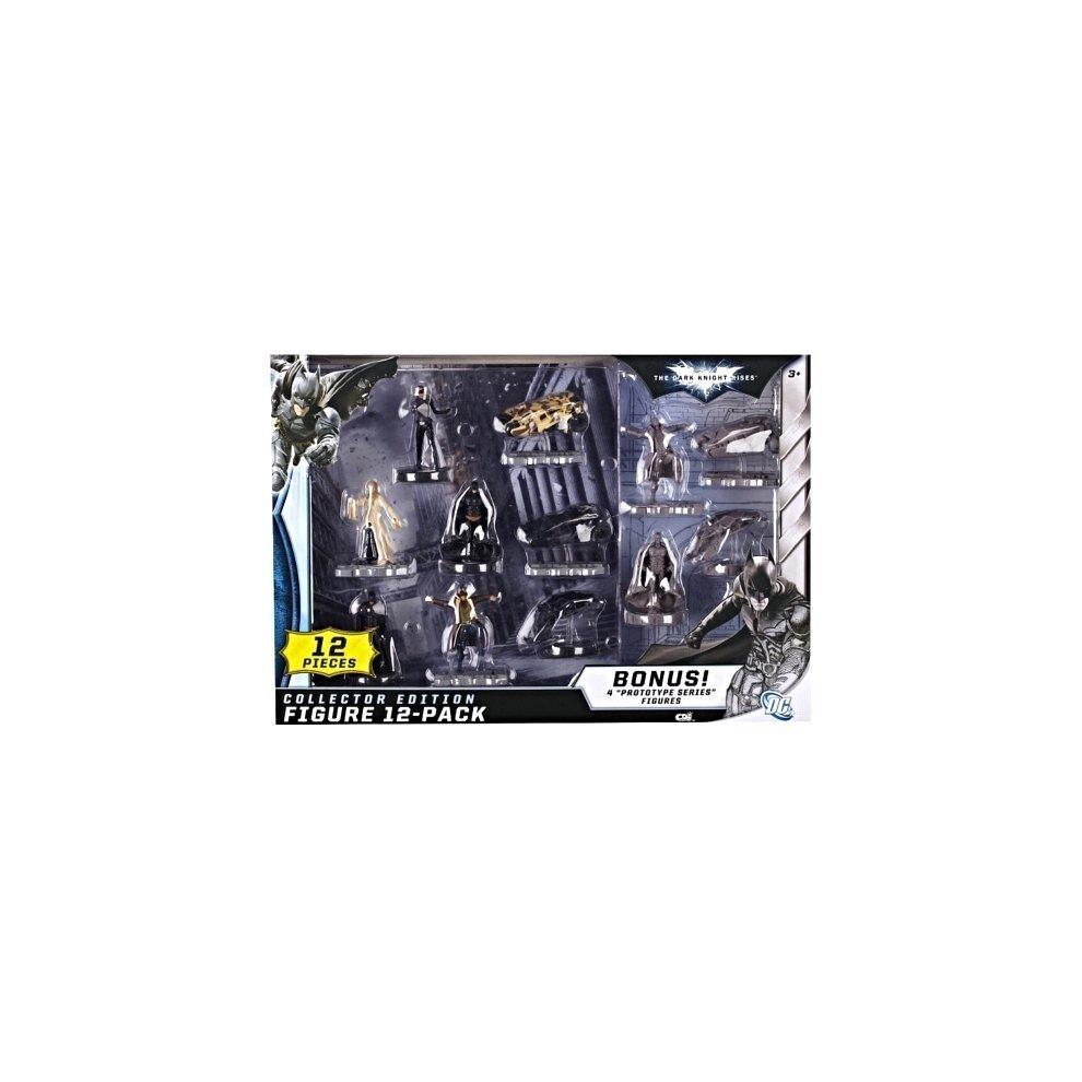 Batman The Dark Knight Rises Collector Edition 12-pack Figures With Bonus