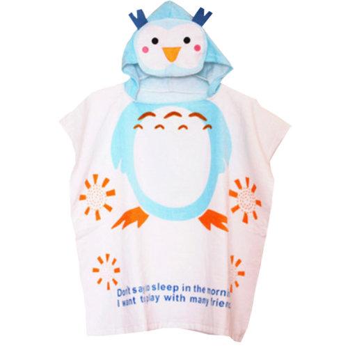 Cute Baby Towel/ Bath Towel/Baby-Washcloths/BABY bathrobe,Happy Penguin