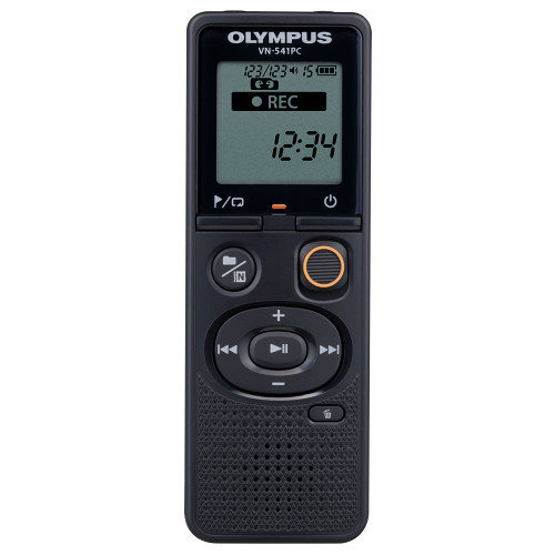 Olympus VN-541PC Internal memory Black dictaphone