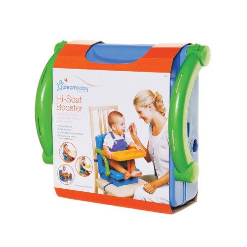 Dreambaby Hi-Seat Booster (Orange, Green & Blue)