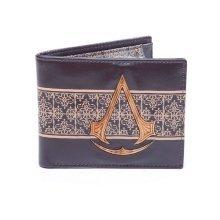 Assassins Creed Movie Wooden Crest BiFold Wallet - Brown (MW070401ACM)
