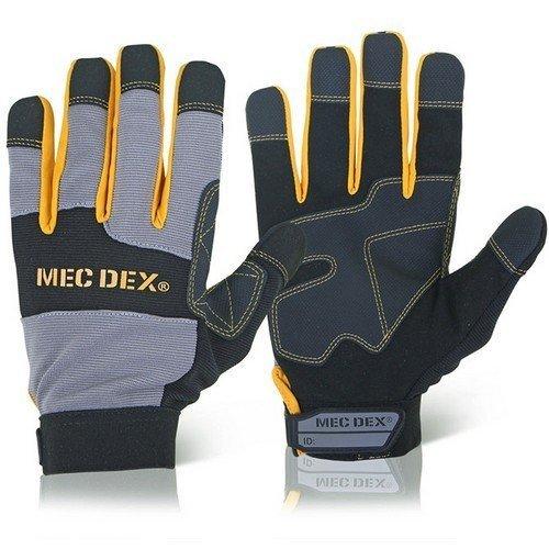 Mecdex MECDY-713L Work Passion Impact Mechanics Gloves Large