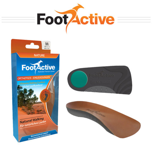 FootActive NATURE 3/4 Length insoles